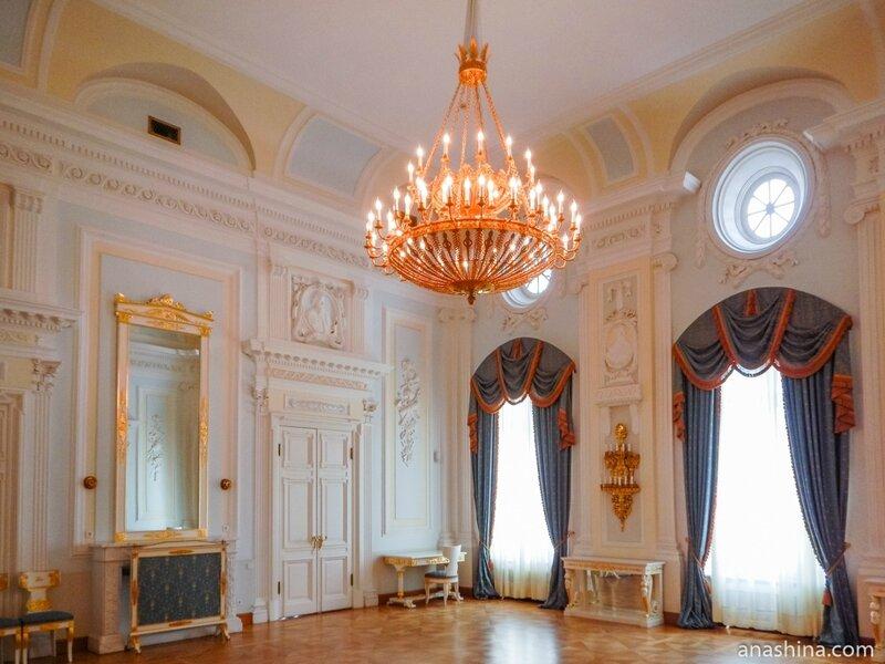 Гостиная, Петровский путевой дворец