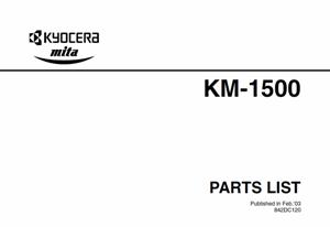service - Инструкции (Service Manual, UM, PC) фирмы Mita Kyocera 0_137f4a_29be8d57_orig