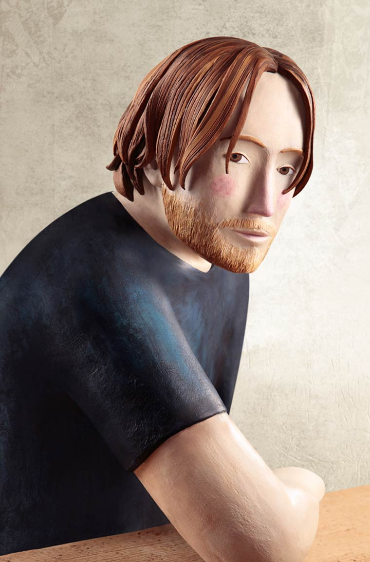 Clay Portraits - Les magnifiques illustrations en argile d'Irma Gruenholz