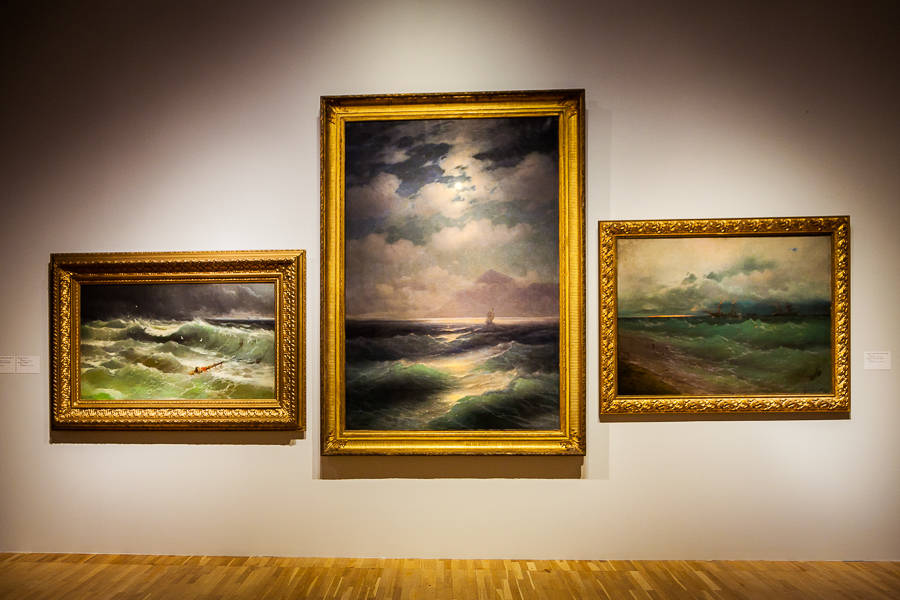 The 200 Years Restrospective Exhibition of Aivazovsky