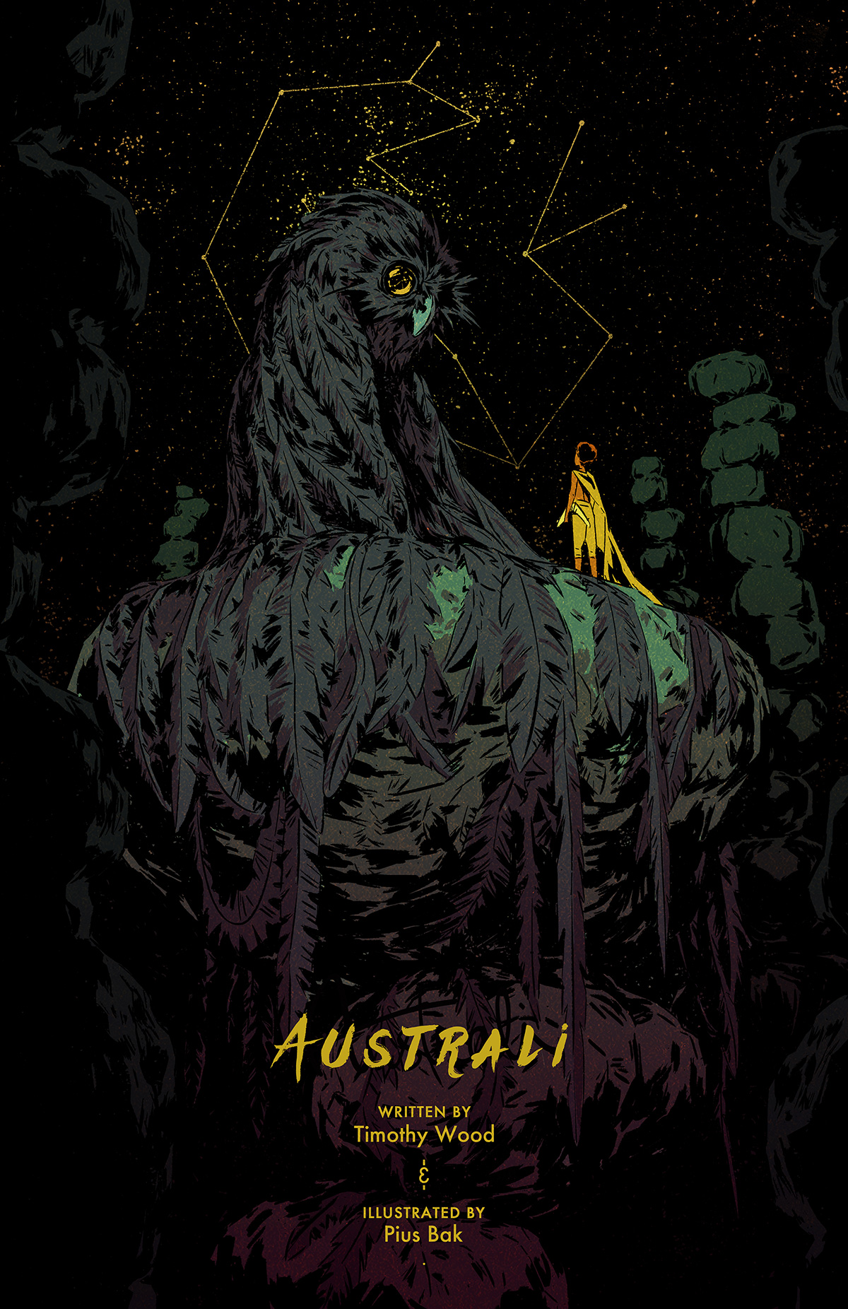 Australi Comic Series
