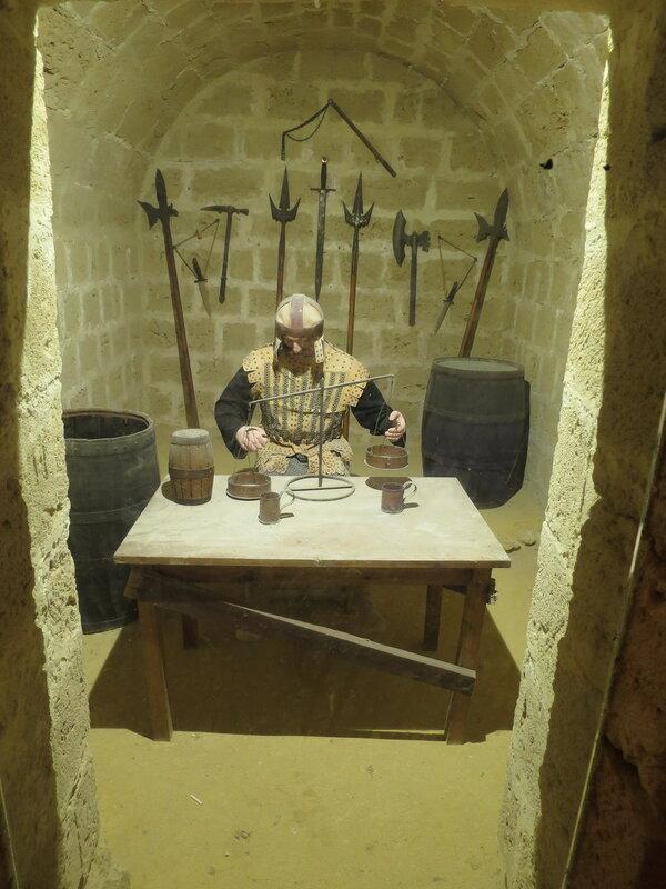 Оружейная комната юго-восточного бастиона