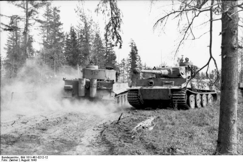 Russland, Panzer VI (Tiger I)