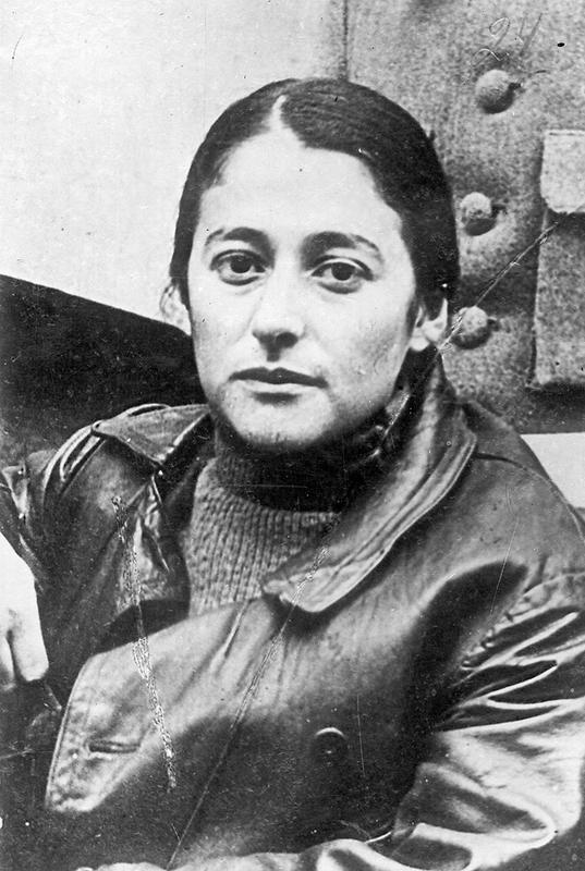 Р.Я.Юровская на ІІ Всероссийском съезде РКСМ. 1919 год