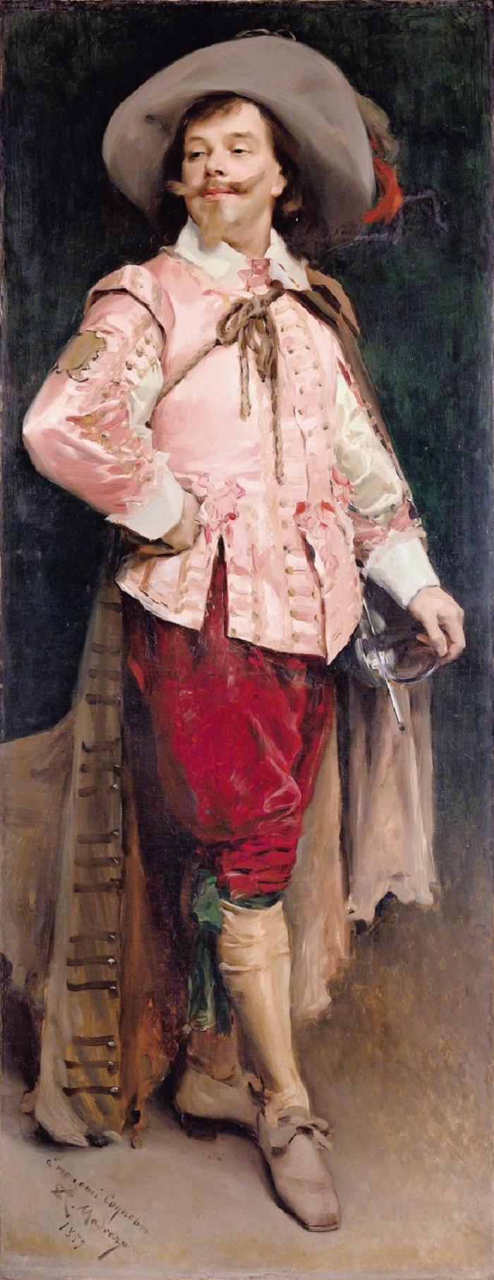 1895_Constant Coquelin l'aine (1841-1909) as Don Cesar de Bazan (Victor Hugo, Ruy Blas)_201 _ 78__.,_.________ ________.jpg
