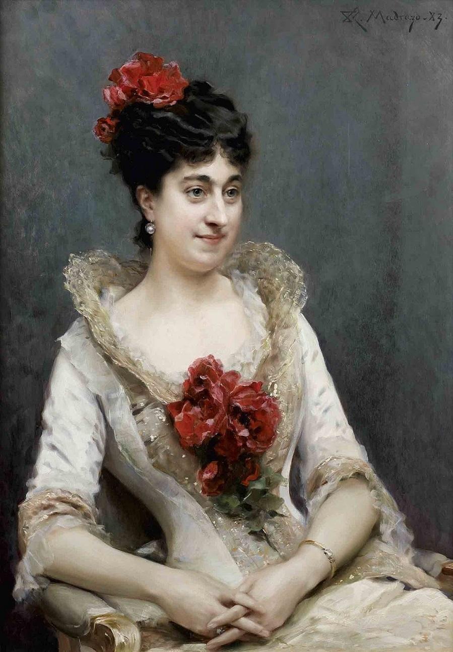 1920_Портрет дамы в розовом (Portrait Of A Lady In Pink)_95,5 x 67,5_Частное собрание.jpg