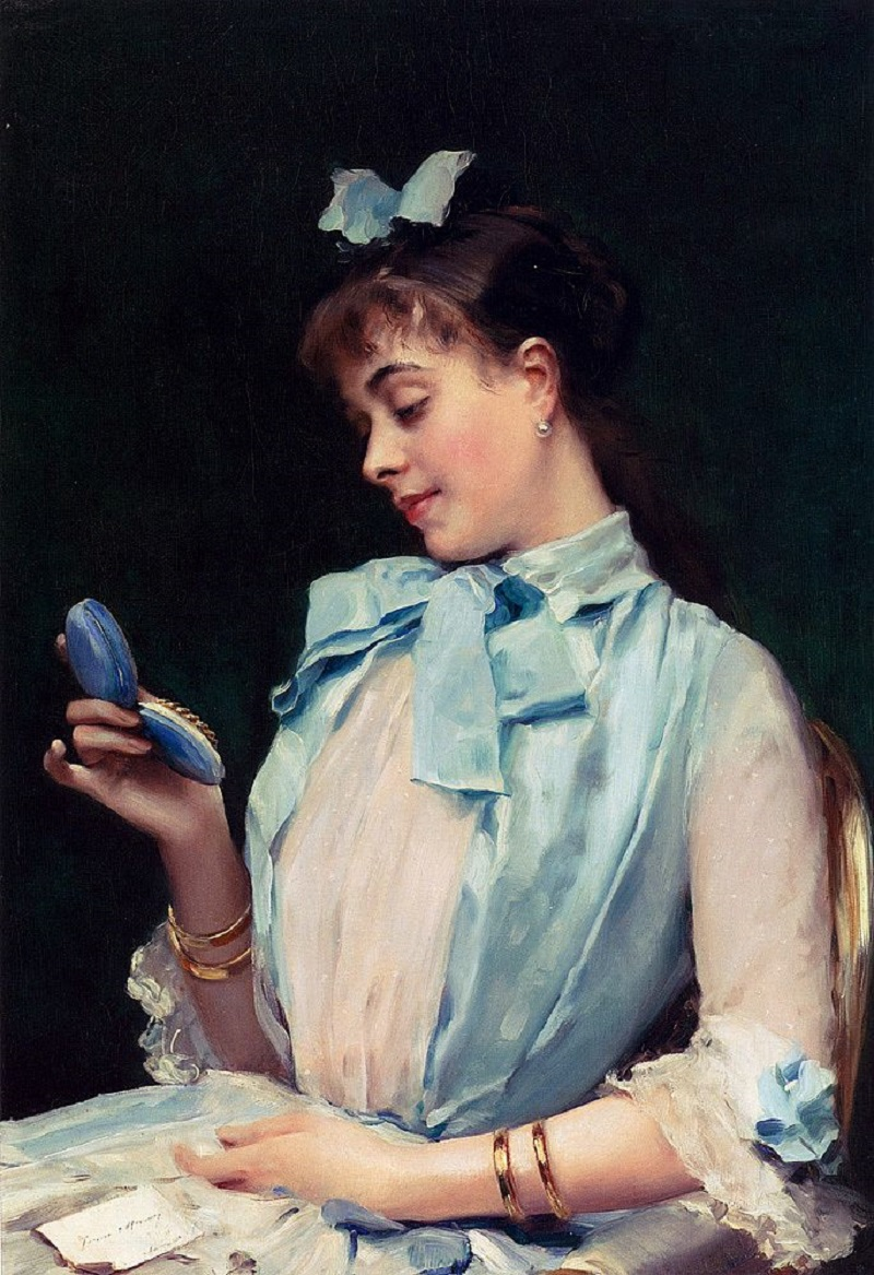 Портрет Алины Масон в голубом (Portrait Of Aline Mason In Blue)_86.3 х 60.6_х.,м._Частное собрание.jpg
