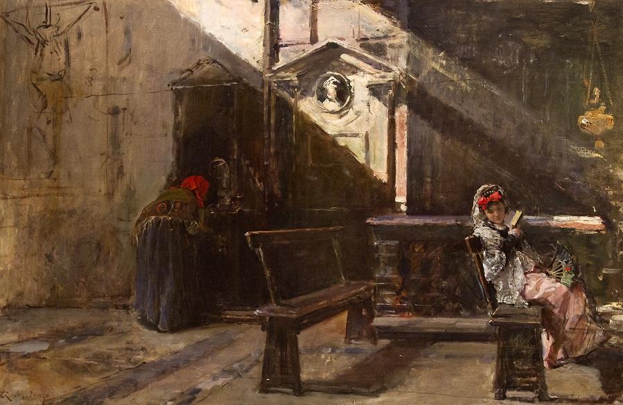 Внутри Церкви. Исповедь (Interior de Iglesia. La Confesion).jpg