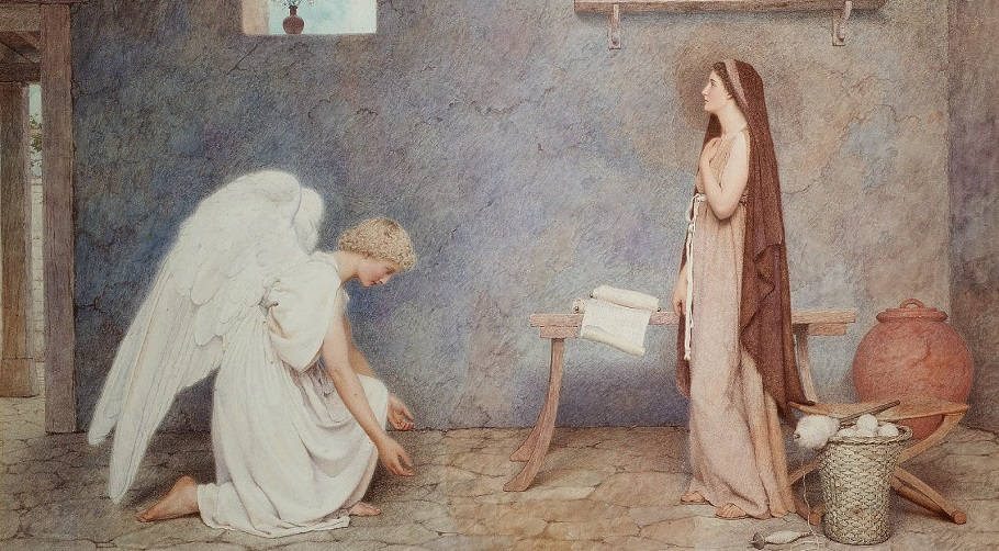 The Annunciation, George Lawrence Bulleid..jpg
