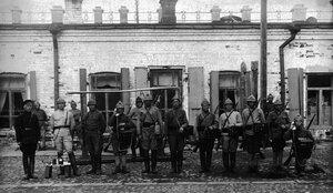 Челябинск. Команда связи 74 дивизиона ВОГПУ. 1923
