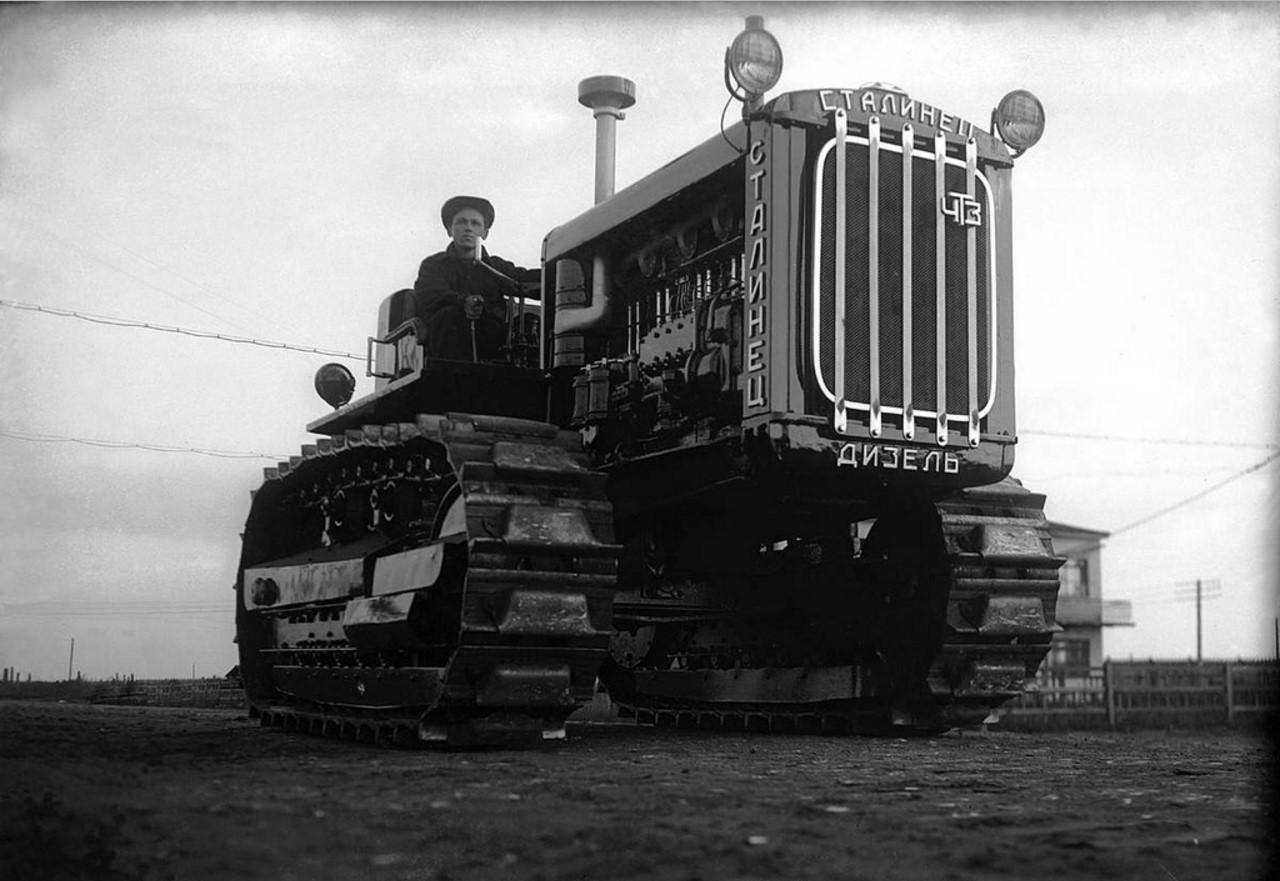ЧТЗ. Трактор «Сталинец-дизель». 1931