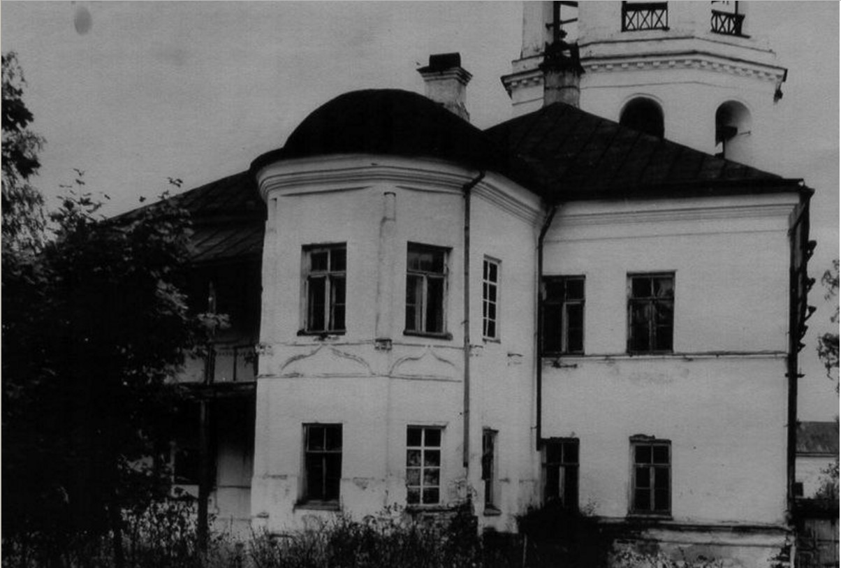 Советский период. 1948. Настоятельский корпус. Восточный фасад