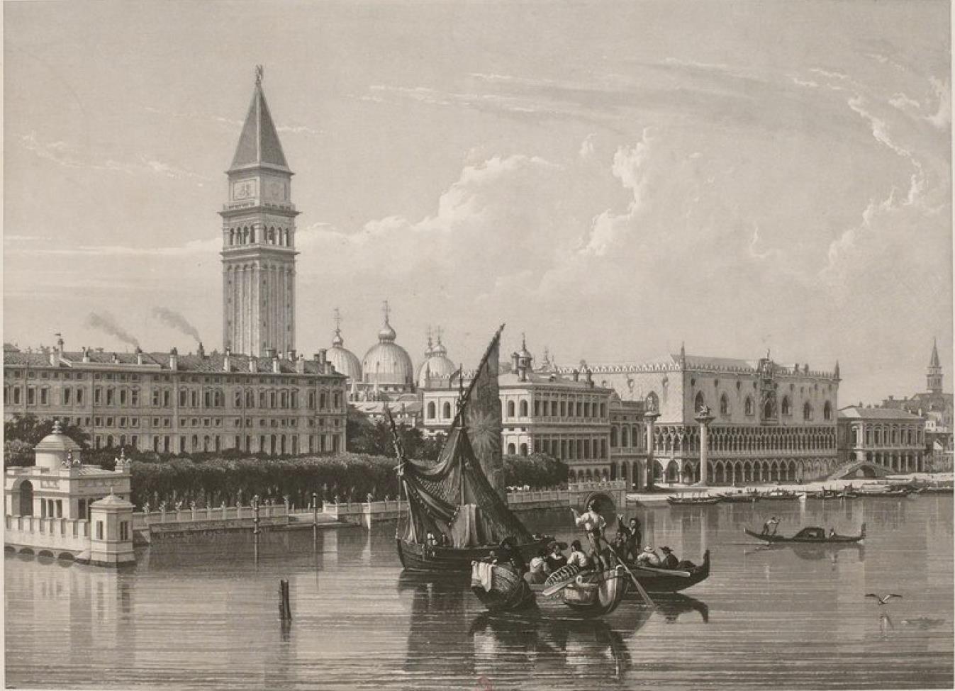 Италия. Венеция. Гранд-канал