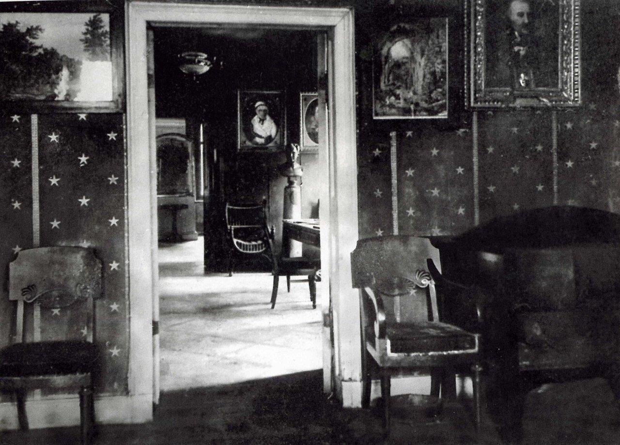Аракчеевский дворец. Малая гостиная. 1908.