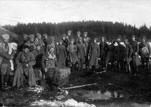 1921. Позиция курсовой батареи. Кронштадт