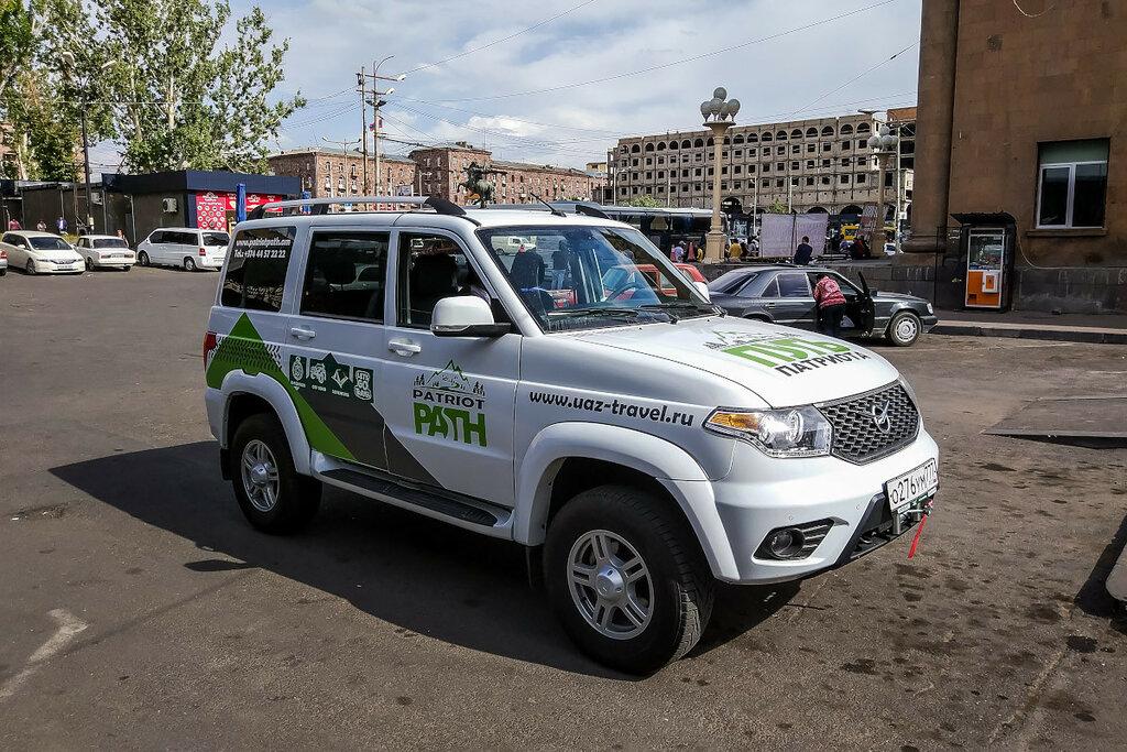 УАЗ Патриот в Армении