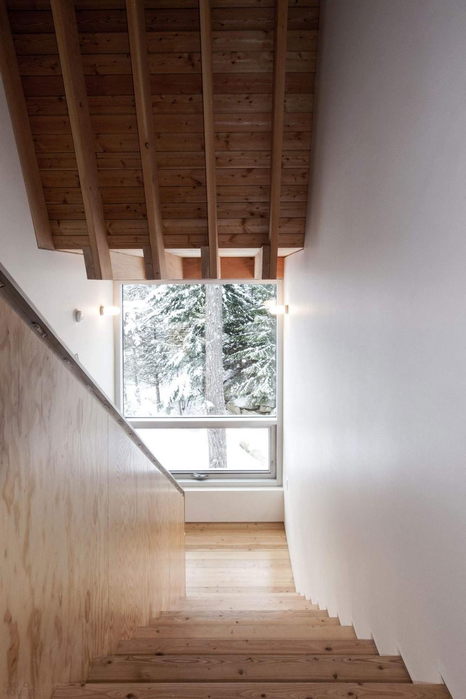 Домик для семьи сноубордистов в горах Канады