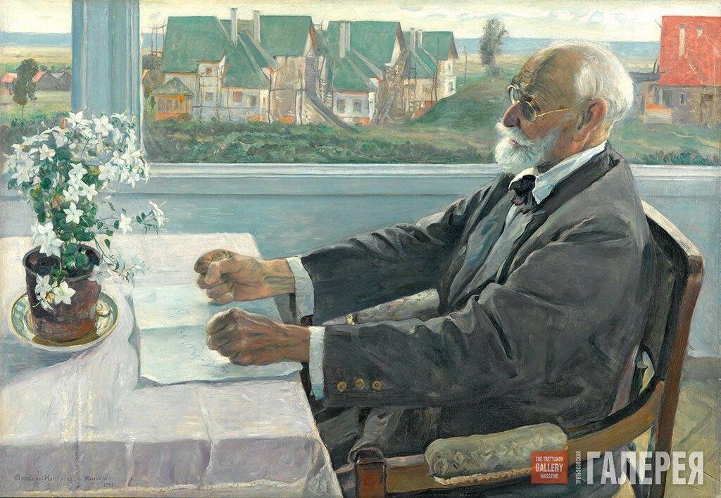 Нестеров М.В. Портрет академика И. П. Павлова. 1935