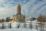 Зимние виды храма в Дубровицах
