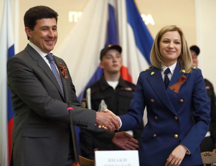 Николай Янаки и Наталья Поклонская