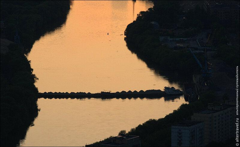 Перекрытое русло Москва-Реки