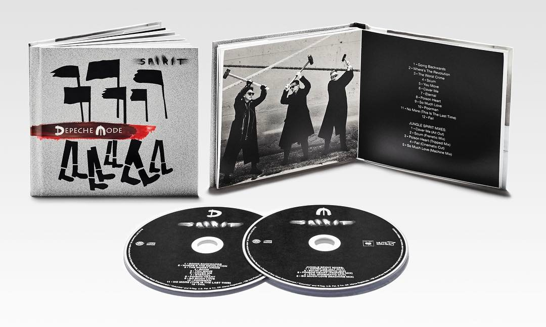 Depeche Mode - spirit - обложка альбома