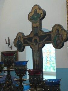Запрестольный крест.