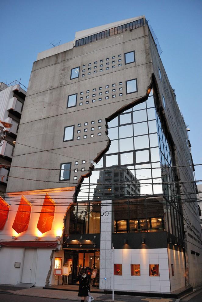 Крошечный дом в Токио.