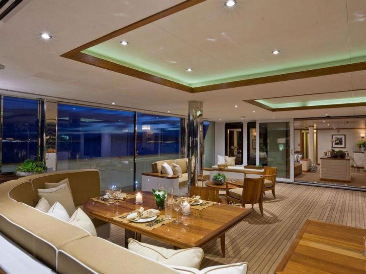 Яхта SuRi Пункт прибытия: южная часть Тихого океана. Цена за неделю: 375 тысяч долларов. На яхте нах