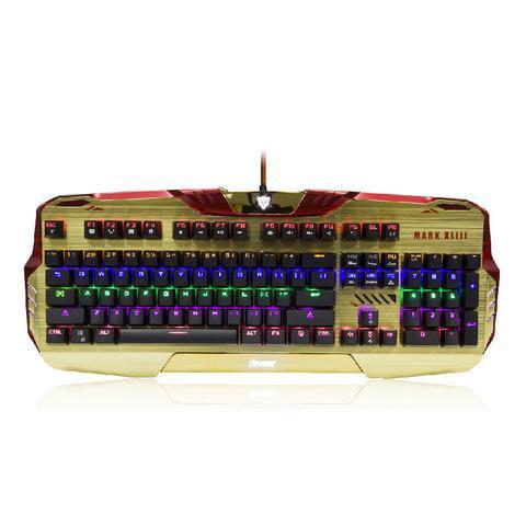 Эта клавиатура с программируемыми световыми эффектами понравилась бы даже Тони Старку.