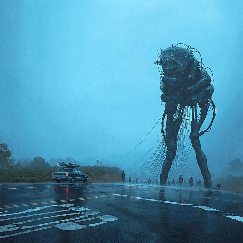 Пугающе реалистичные иллюстрации о том, что будет, если человечество не прекратит разрушать Землю