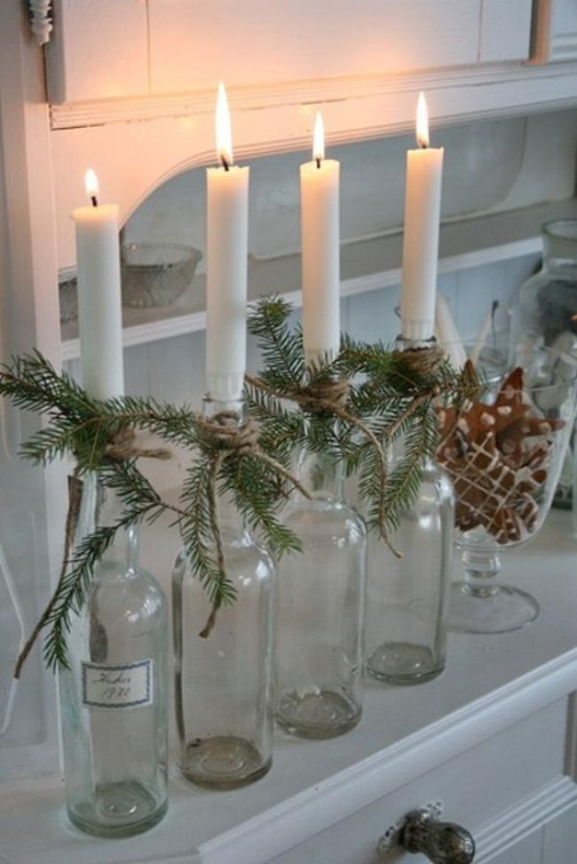 © homedit  Свечи— неотъемлемый атрибут новогодней ночи. Если классические подсвечники вам нас
