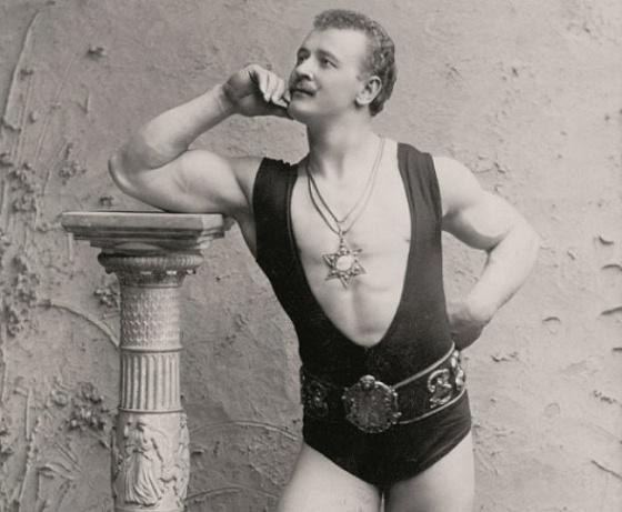 1900-е   Время борцов и силачей  Выступления силача Юджина Сэндоу в начале XX века вызыва