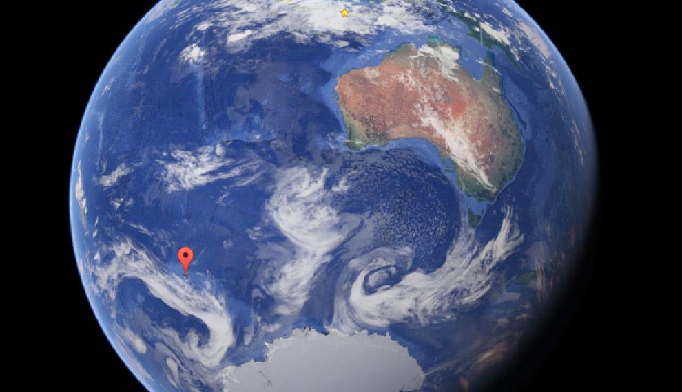№4. Острова Питкэрн, Тихий океан 22. Острова Питкэрн — единственные владения Великобритании в Т