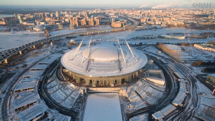Строительство «Зенит-Арены» официально окончено