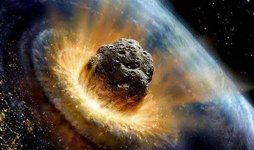 Ветер отупавшего наЗемлю астероида сдует человечество