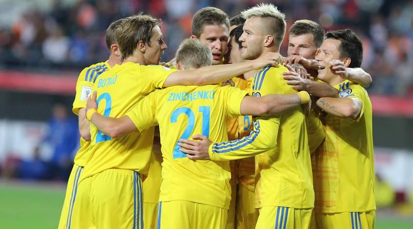 Сборная Украины сыграет сМальтой 6июня
