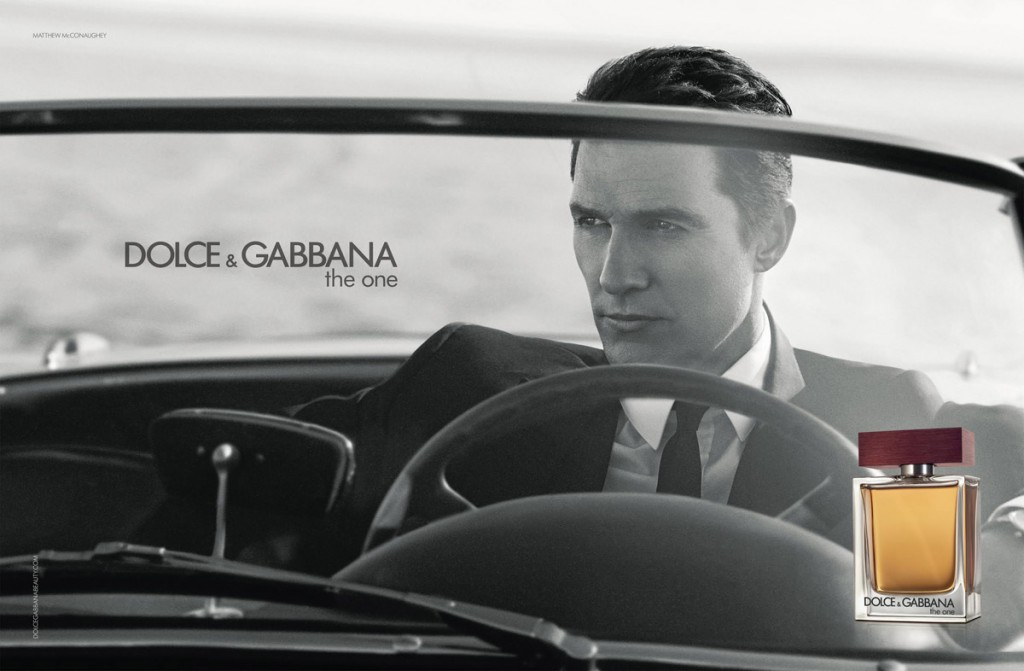 Matthew McConaughey for Dolce & Gabbana The One