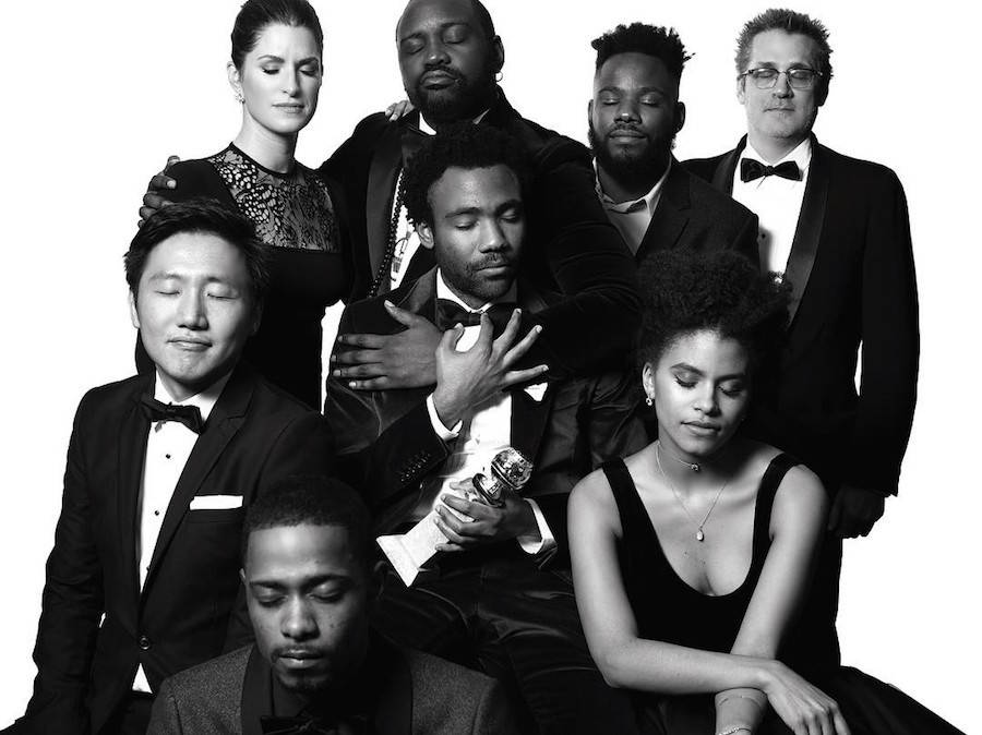 Black and White Portraits of Stars at the Golden Globes Ceremony 2017 (22 pics)
