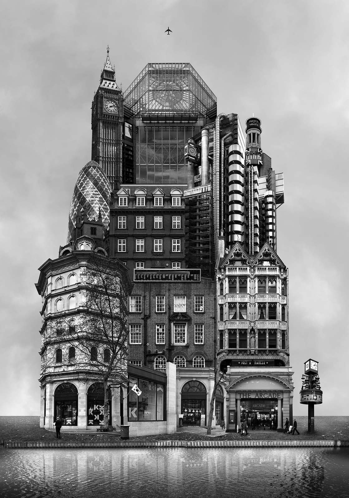 Archisculpture - The surreal architectures of Beomsik Won