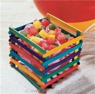 Чудо идеи из палочек для мороженого