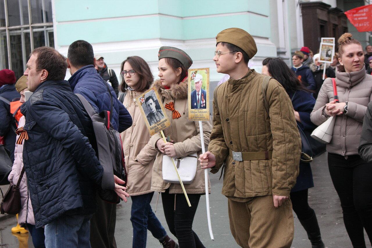 «Бессмертный полк» в Москве