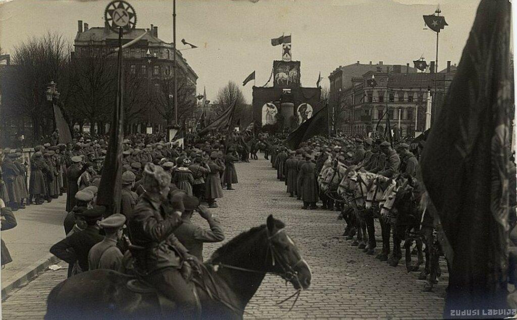 Первомай, Рига 1919.