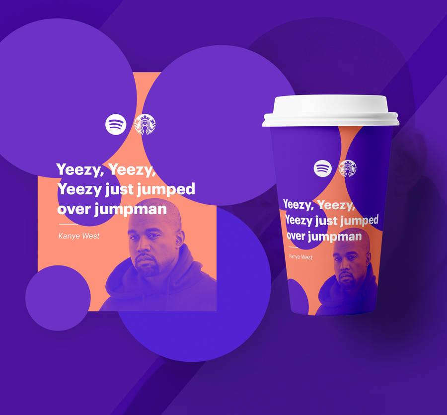 Imaginative Collaboration Spotify X Starbucks