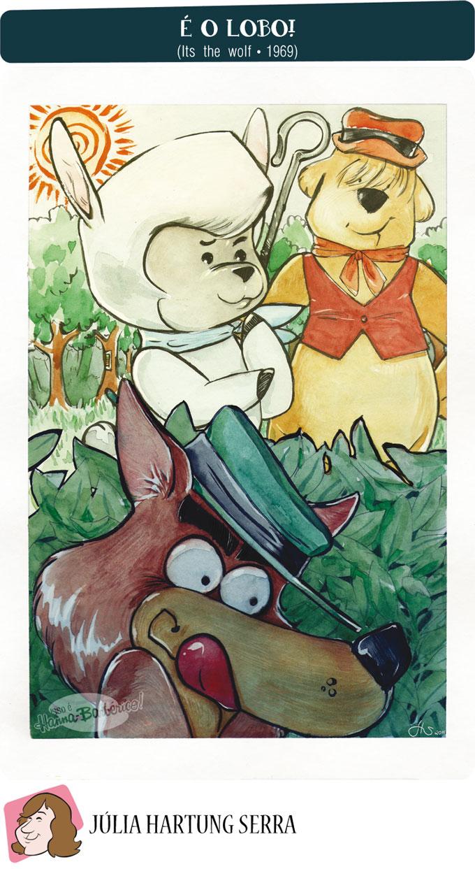 Isso e Hanna-Barberico!