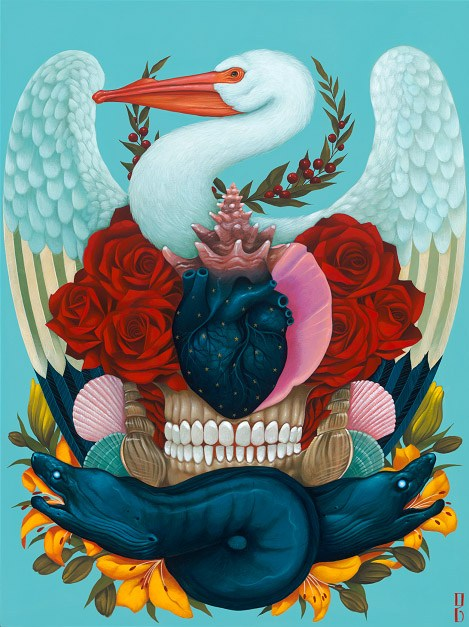 The art of Gustavo Rimada is brimming with color and symbolism