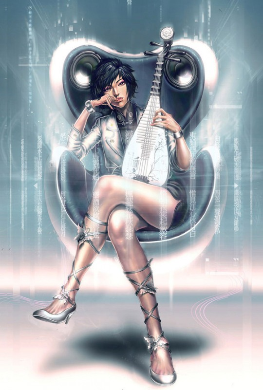 Digital Illustrations by Yu Cheng Hong