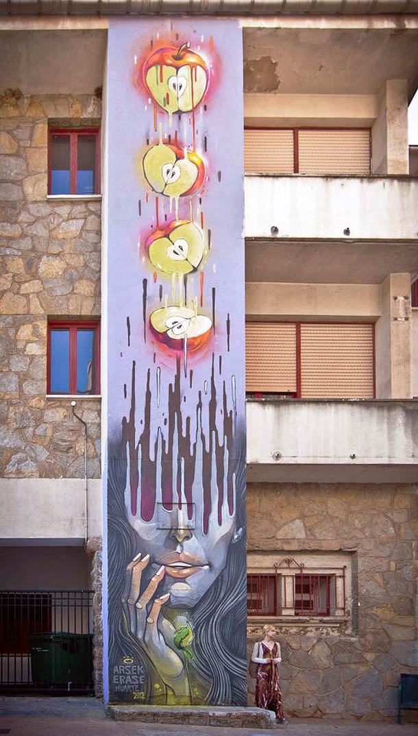 Still Hungry - Street Art et Illustrations par ERASE