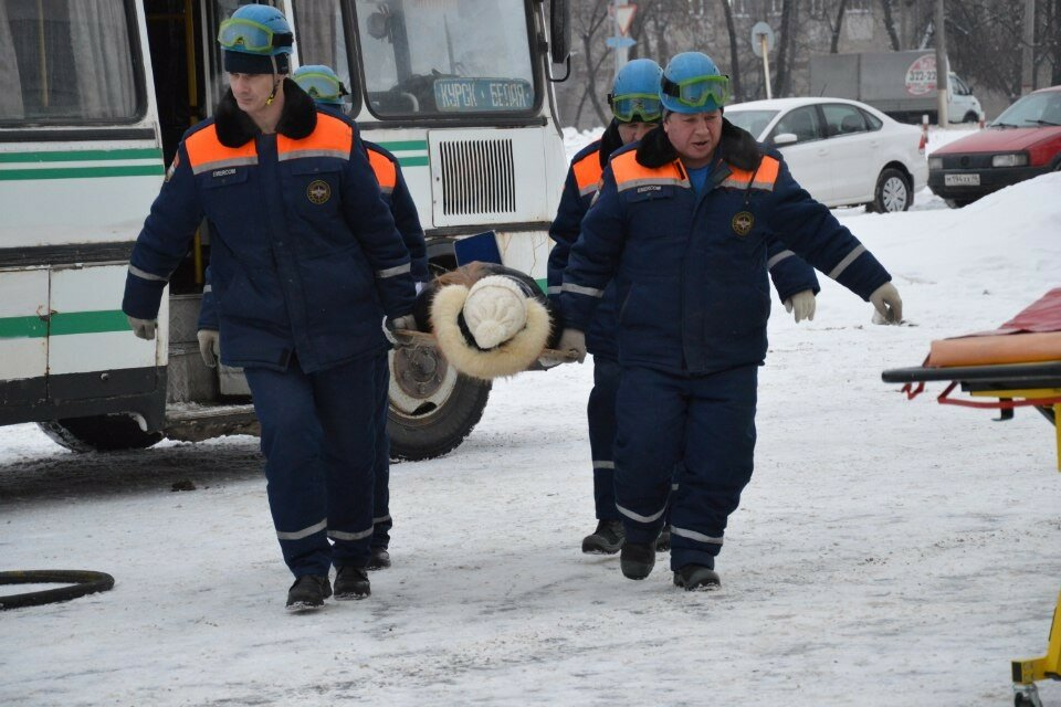 Курские спасатели фото