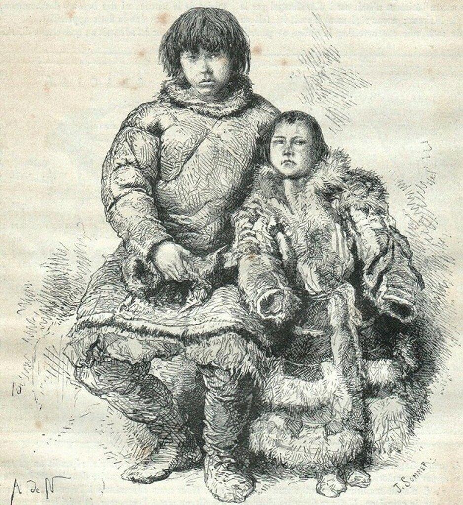4. Племя самоедов. Урало-алтайское племя, близкое к финнам, но отличающееся от них типом и языком. .jpg